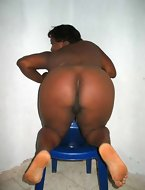 Hawt giant bum african beauties are exciting and erotic