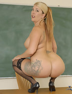 hot big booty teacher gets nailed