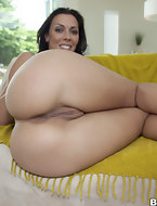 Fucking juicy ass Rachel Starr is every mans dream and today's his lucky day. She takes the cock like a champ.